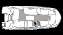 2021 - Hurricane Deck Boats - SS 185 OB