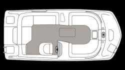 2021 - Hurricane Deck Boats - SS 188 IO