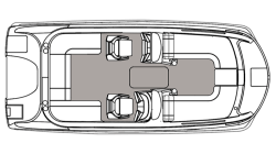 2021 - Hurricane Deck Boats - SS 188 OB