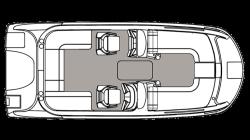 2021 - Hurricane Deck Boats - SS 192 OB