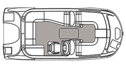 2021 - Hurricane Deck Boats - SS 192 RL OB