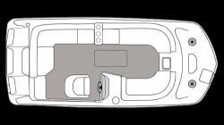 2021 - Hurricane Deck Boats - SS 201 IO
