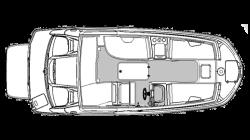 2021 - Hurricane Deck Boats - SS 205 IO