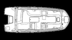 2021 - Hurricane Deck Boats - SS 205 OB