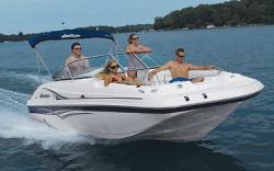 Godfrey Marine 195 OB Deck Boat