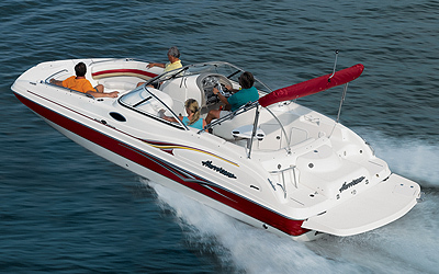 Research Hurricane Deck Boats Fd 237 Io Deck Boat On
