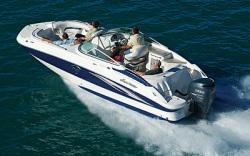 Godfrey Marine 240 OB Deck Boat