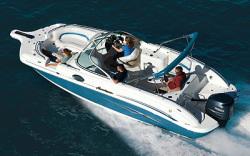 Godfrey Marine 257 DC OB Deck Boat