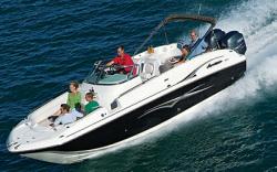 Godfrey Marine 260 OB-S Deck Boat
