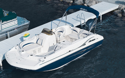 Godfrey Marine 194 OB Deck Boat