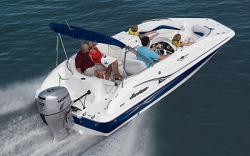 Godfrey Marine 202 OB Deck Boat
