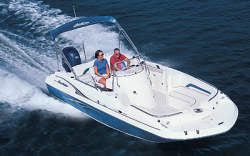 Godfrey Marine 211 OB Deck Boat