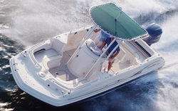 Godfrey Marine 231 OB Deck Boat