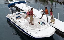 Godfrey Marine 232 OB Deck Boat