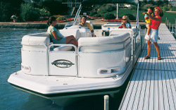 Godfrey Marine 218 RE-3 IO Deck Boat