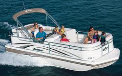 Godfrey Marine 238 RE-3 OB Deck Boat