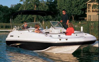 Sea Ray Sundeck >> Research 2008 Hurricane SunDeck 237 OB on iboats.com