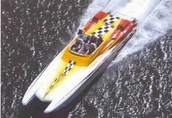 2009 - Hustler Powerboats - 377 Talon