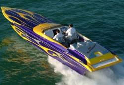 2009 - Hustler Powerboats - 388 Slingshot