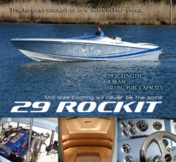 Hustler Powerboats -29 Rockit