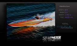 2011 - Hustler Powerboats - 50 Monster