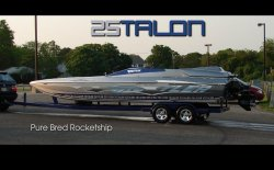 2011Hustler Powerboats - 25 Talon