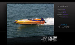 2011 - Hustler Powerboats - 377 Talon