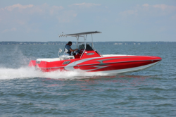 2017 Hustler Powerboats- 25 C3 Speedfish