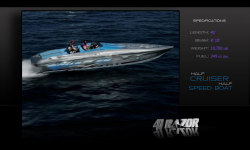 2017 - Hustler Powerboats - 41 Razor