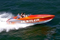 2017 - Hustler Powerboats - 29 Rockit