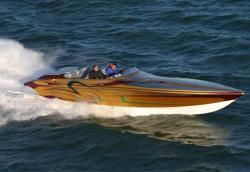 Hustler Powerboats 344 Cheetah High Performance Boat