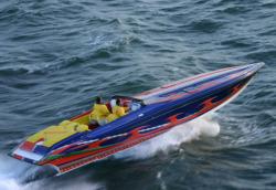 Hustler Powerboats 388 Slingshot High Performance Boat