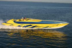 Hustler Powerboats 50 Performance Yacht Motor Yacht Boat