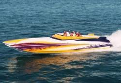 2008- Hustler Powerboats - 377 Talon