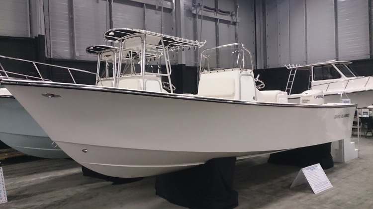 May-Craft 23- Cape Classic with 175hp Evinrude Etec engine