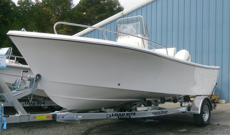 may craft boats may craft 19 center console with 115hp e tec engine for 2397