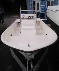17'  Center Console with 40hp E-tec engine