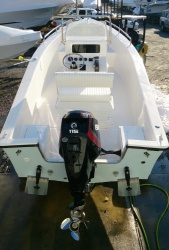 18' Center Console with 90hp E-tec engine