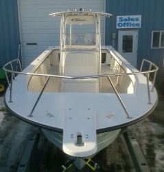 2700CC w/twin Evinrude 175hp E-tec engines