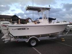 20' Center Console with 135hp HO E-tec engine