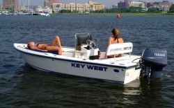 Key West Boats 1520 CC Center Console Boat