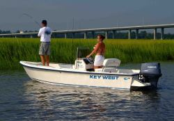 Key West Boats 1720 CC Center Console Boat