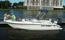 Key West Boats 186 DC Dual Console Boat