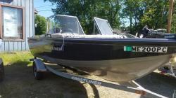 2014 Crestliner Boats 1650 Fish Hawk WT Livermore Falls ME