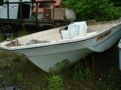 1977 Sea Skim 15 Skiff