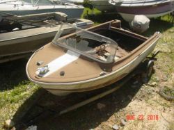 1967 16' American or All American Evinrude 80 hp 80753M