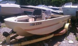 1972 Ouachita 160 Fisherman OB Hull