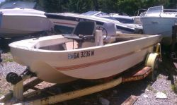 1972 Ouachita 160 Fisherman OB Hull