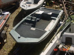 1988 Cimmarrom T150 outboard bass boat hull