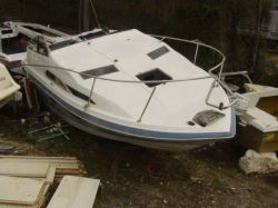 1989 Bayliner 2450 Cierra Cobra Tranom Assembly
